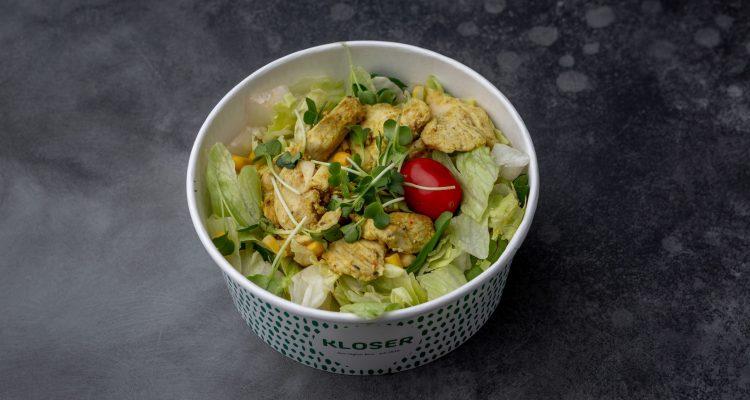 Salat Hühnerbrust